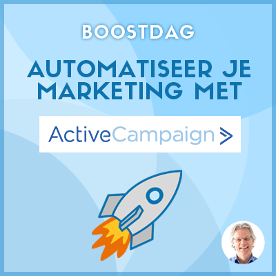 Automatiseer je marketing met ActiveCampaign