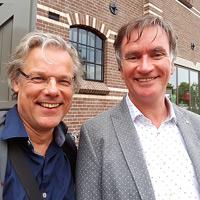 Thijs van Halewijn interviewt schrijver Marcel van Driel