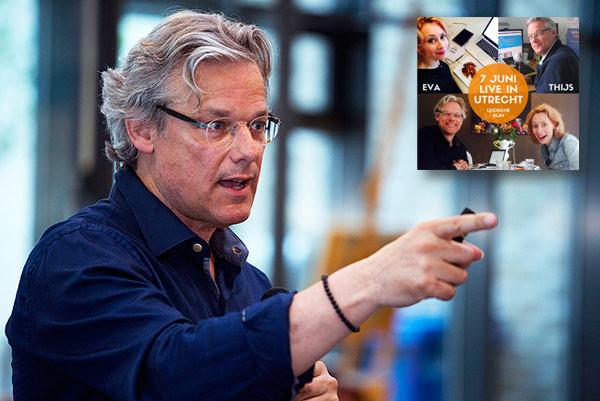 Thijs van Halewijn en Eva Brouwer over marketing, pak je podium en ondernemerschap, Utrecht